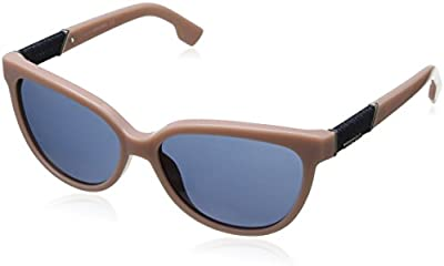 Diesel - Gafas de sol Ojos de gato Dl0102 para mujer, 72V
