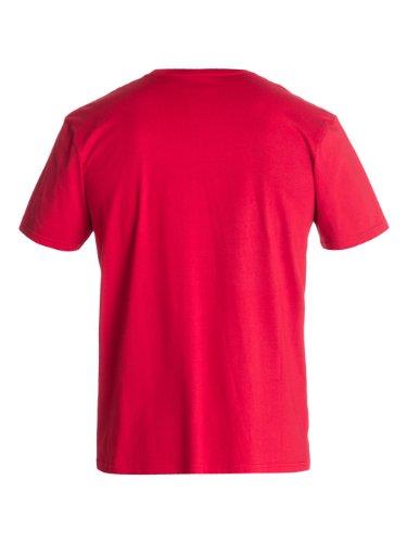 QuiksilverHerren T-Shirt Rot - Red (Chili Pepper)