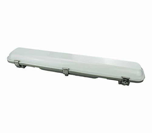 Lampada a LED lineare, 25 W, grado di protezione IP65, per l'illuminazione del soffitto, per illuminazione esterna, colore dell'illuminazione: bianco freddo, temperatura di colore: 6000K, 50.000 ore [classe di efficienza energetica A+]