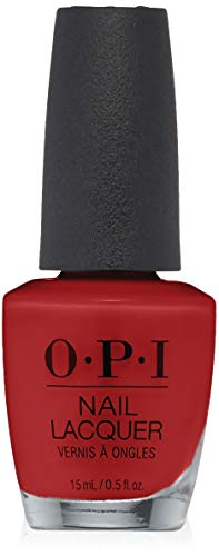 Opi Lacquer Laca de Uñas Color Nln25 Big Apple Red - 1 Unidad