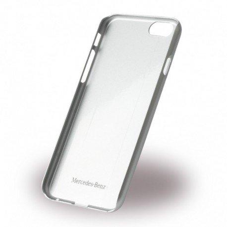 Mercedes MEHCP6CUSDGR Echtleder und Brushed Aluminium Schutzhülle für Apple iPhone 6/6S Dunkelgrau - 2