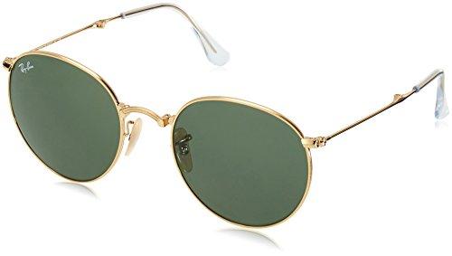 Ray-Ban Unisex Sonnenbrille 0rb3532 1 Gestell: Gold,Gläser: grün 001), Medium (Herstellergröße: 53)