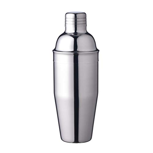 BESTONZON 750ml Cocktail Shaker Edelstahl Wein Shaker mit Sieb und Deckel Top Martini Shaker für Home Bar Martini-shaker Top