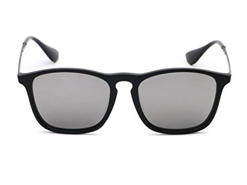 Unbekannt XUEP Sonnenbrillen Sonnenbrillen Reflektierende Sonnenbrillen Zustrom von Menschen Männliche und weibliche Big Box Retro Sonnenbrillen Bunte quadratische leichte Schattierungen