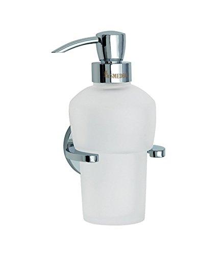 Price comparison product image Loft Metal Drill & Screw Mount Soap Dispenser Finish: Polished Chrome