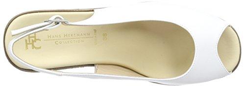 Hans Herrmann Collection Hhc, Zoccoli Donna Bianco (blanc (bianco - 21))