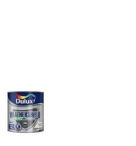 Dulux Weather Shield Quick Dry Undercoat Paint, 750 ml - White