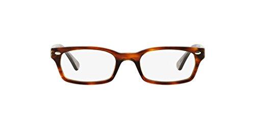 Ray Ban Optical Montures de lunettes RX5150 Pour Femme Brown On Tortoise, 48mm clear