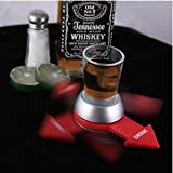 Spin The Shot Glass Alcohol Liquor Drinking Game Fun Party Gift Bar Tool Portabl