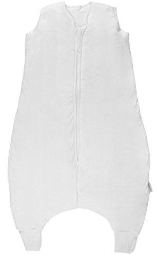 Slumbersac sacchi nanna con piedini in tinta unita color panna - standard 2.5 tog - 100 cm/24-36 mesi