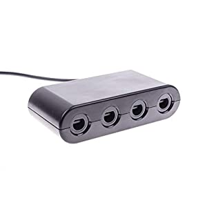Switch und Wii Adapter für 4 Game Cube Controller [