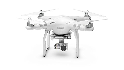 DJI Drone Phantom 3 Advanced con Videocamera 12 MP/2,7K, Bianco