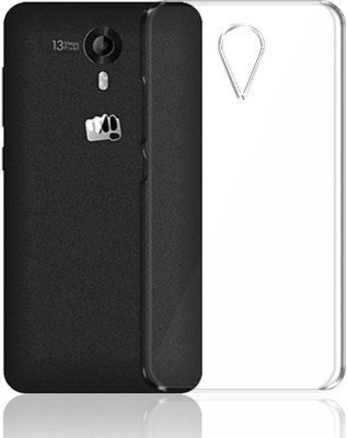 TREECASE Exclusive Soft Silicone TPU Jelly Crystal Clear Back Case Cover For Micromax Canvas Mega 4G Q417