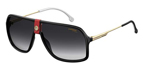 S Sonnenbrille, Mehrfarbig (Gold Red), 64 ()