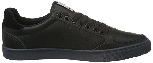 Calabrone Unisex Adulto Magro Stadil Asso Sneaker Basso Nero (nero)