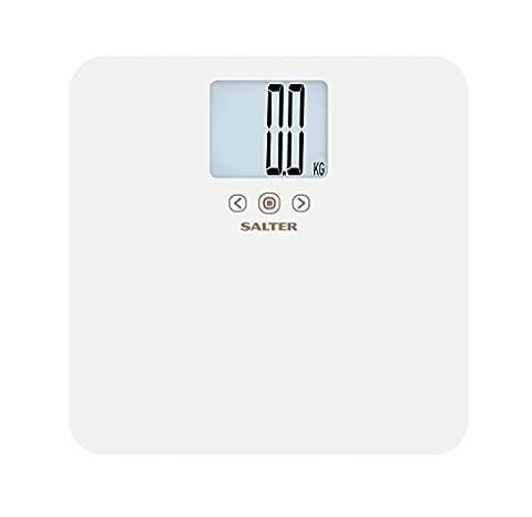 Salter Balance électronique Memo de Salle de Bain Blanc