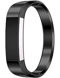 Scpink Correa Fitbit Alta y Bandas de Reloj Alta HR, Correa de la Correa del Reloj de Repuesto de Acero Inoxidable Loop para Fitbit Alta y Alta HR Fitness Watch (Negro)