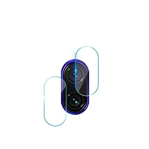 GerTong Protector de Lente de Cámara para Redmi Note 7, 2 Piezas 9H HD Ultra Thin a Prueba de Explosiones Anti-Scratch Glass Tempered Camera Protector de Pantalla para Xiaomi Redmi Note 7
