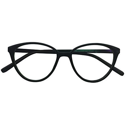 Kurzsichtigkeit Brille Myopia Brille Cateye Photochromic Grey Nearsighted Womens Ladies Cat Eye Black Frames Spectacles Myopia,Frame: 14.0cm ; arms 13.6cm, lenses: 5.0cm x 4.7cm,-1.0
