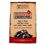 9kg Hardwood Lumpwood Charcoal With Free Fatwood Sticks