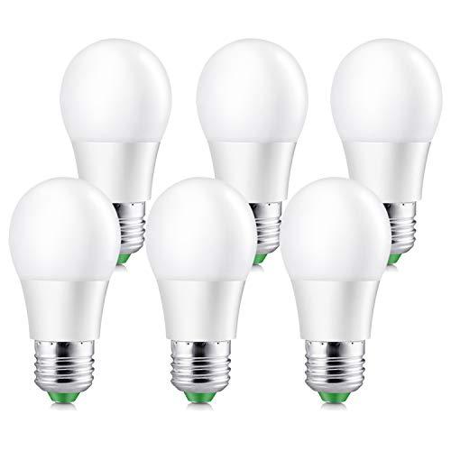 Elrigs LED Lampe 5W ersetzt 40W, E27, 450 Lumen, 230°Abstrahlwinkel, 6er Pack