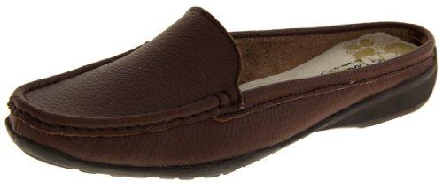 Coolers Cuir et Simili-Cuir Eté Mules Chaussures Femmes brown