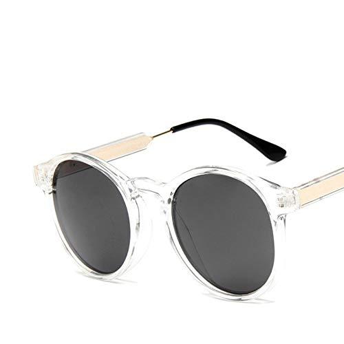CCMOO Retro Runde Sonnenbrille Frauen Männer Marke Design Transparente Weibliche sonnenbrille Männer-1