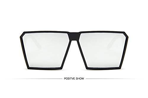 WSKPE Sonnenbrille,Sonnenbrille Mädchen Junge Kinder Sonnenbrille Mit Rechteckigem Rahmen Uv400 Brillen Fashion Kids Eyewear Black Frame Lens