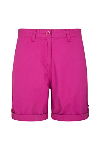Mountain Warehouse Lakeside II Womens Shorts - Light Ladies Shorts, Durable Summer Shorts, Cosy Ladies Shorts, Cotton Shorts for Women - for Beach, Picnics