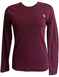 adc302122092 Ralph Lauren Polo Ladies Crew Neck Long Sleeve Top T-Shirt