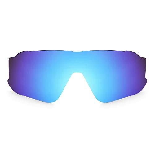 Revant Lente di ricambio Polarizzate Blu Ghiaccio per montatura Oakley Jawbreaker MirrorShield Asian Fit