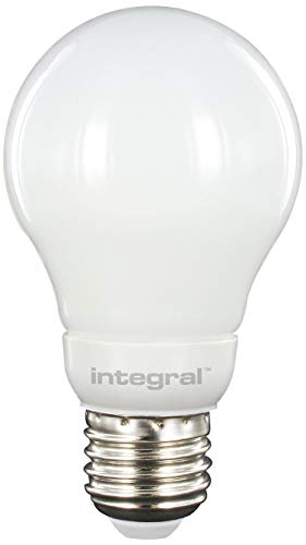 Ampoule LED E27 Omni Directionnel 5.5 W 2700K 470 lm Forme de Globe Aluminium/Plastic/Verre/Laiton Nickelé Blanc 10,5 x 6 cm