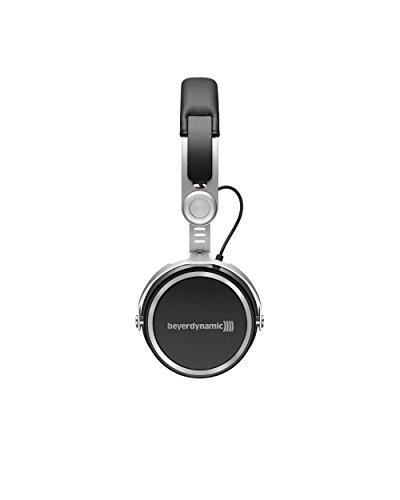 beyerdynamic Aventho wireless on-Ear-Kopfhörer mit Klang-Personalisierung in schwarz. 30 Stunden Akkulaufzeit, Bluetooth kabellos, MIY App, Mikrofon - 3