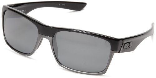 Oakley Herren 0Oo Twoface 918901 60 Sonnenbrille, Schwarz Black Iridium Polarized