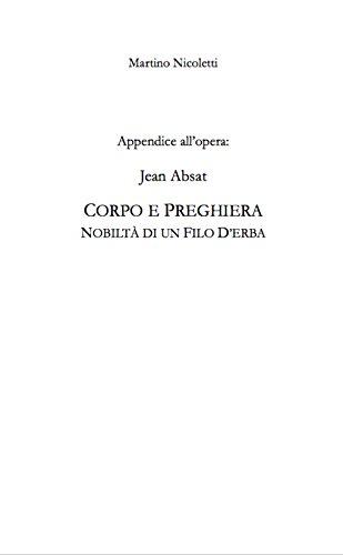 Appendice a: Jean Absat,