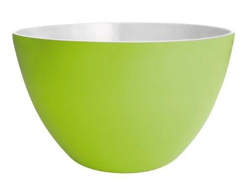Zak Designs duo salad bowl, green/white, 22 cm