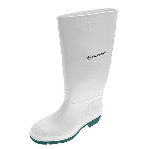 Dunlop Pricemastor Gummistiefel Arbeitsstiefel Boots Stiefel Weiß Gr.45 Arbeitskleidung & -schutz