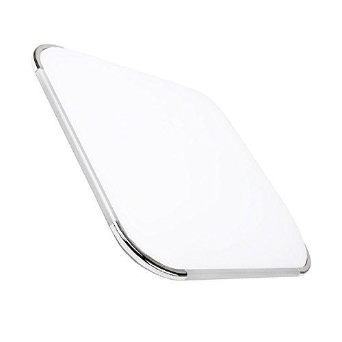 Hengda® 16W LED Deckenleuchte Weiß 6000K-6500K Wohnzimmer Deckenlampe bad Küche Panel Leuchte 85V-265V