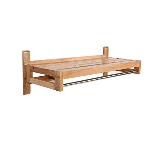 Massivholz Wandhalterung Bad Rack Wandbehang Rack/Stand Kleiderbügel Eichengarderobe Bekleidungsgeschäft Display Rack Aufhänger Rahmen Regal, MTX Ltd, 2# -