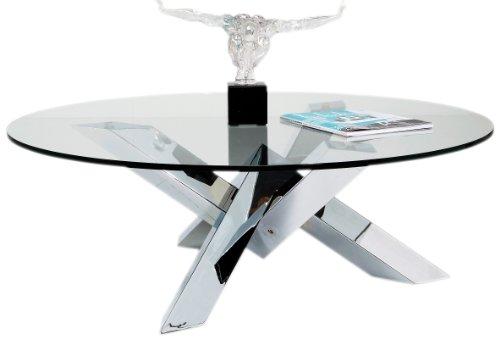 Kare Table Basse Cristal Eco