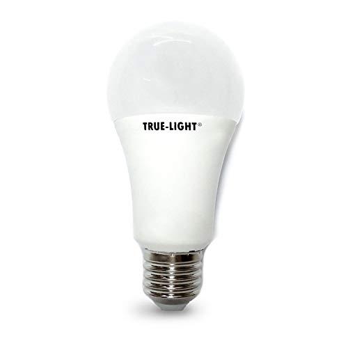 True-Light® led - lampadina luce naturale a spettro completo (5500°K luce bianca benessere visivo)