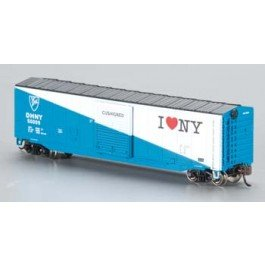Bachmann Industries 50' Sliding Door Box New York Central Car, N Scale