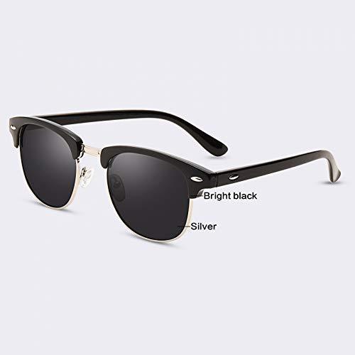 YLYZJH Halbmetall Sonnenbrille Männer Frauen Markendesigner Gläser G15 Beschichtung Spiegel Sonnenbrille Eine Serie