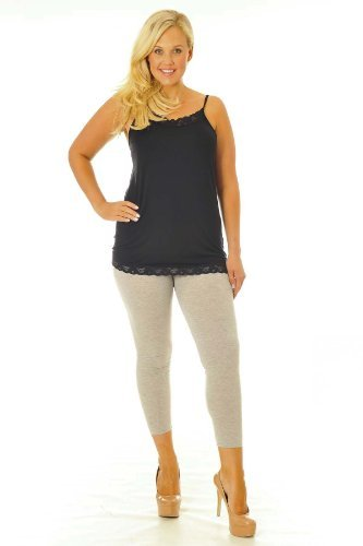 Kleid Hose Charcoal (Cropped Leggings Charcoal 28-30)