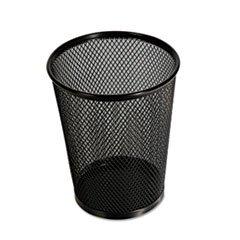 Jumbo Mesh Pencil Cup, Black, Sold as 1 Each