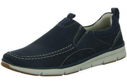 Clarks Shoes Orson Row Größe 44 Navy