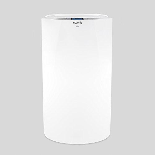 H.Koenig KOL7012 Climatiseur mobile reversible + classe A - special sommeil - 4 Fonctions : Refroidissement, Ventilation, Chauffage, Déshumidification - 3520W