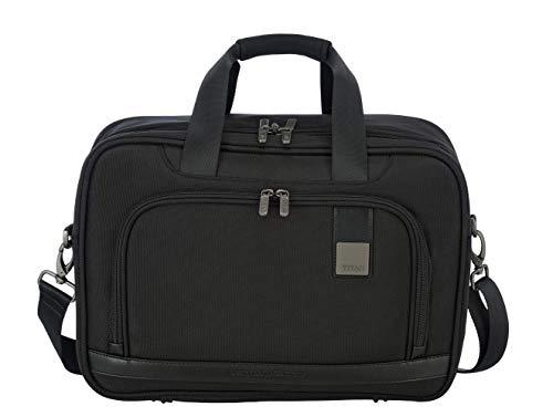 """TITAN """"CEO"""" von TITAN®: Exklusive Business-Trolleys und Bordtaschen mit vielen Außen- und Innentaschen Reise-Henkeltasche, 41 cm, 20 Liter, Black"""