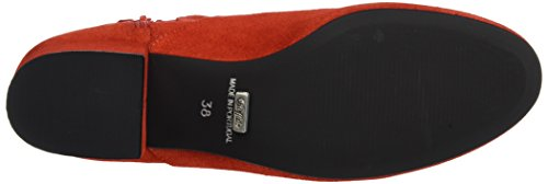 Buffalo London Es 30951 Suede, Stivali Donna Rosso (Red216)