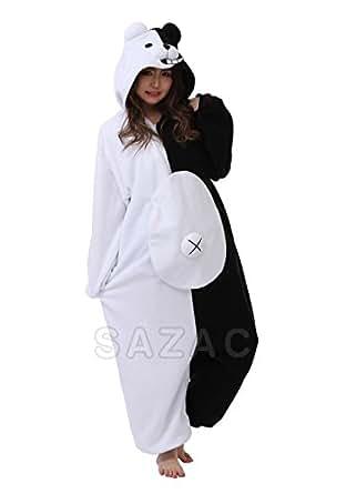 Kigurumi Pyjama Panda Ronba Monokuma SAZAC (100% Qualite Japonaise)